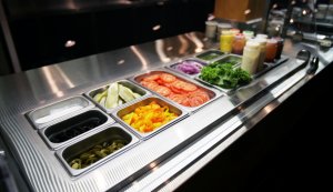 garnish counter, harvey's, fresh, delicious, CARA, innovation