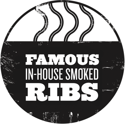 Famous in-house smoked ribs