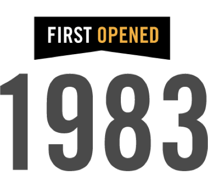 First opened 1983
