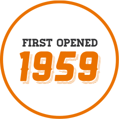 First opened 1959