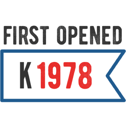 First opened in 1978