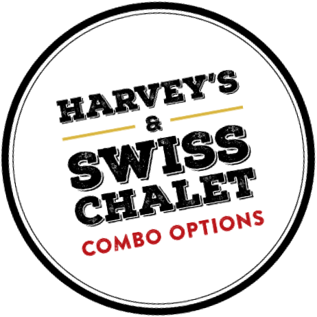 Harvey's and Swiss Chalet combo options