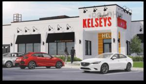 Kelseys restaurant after conversion