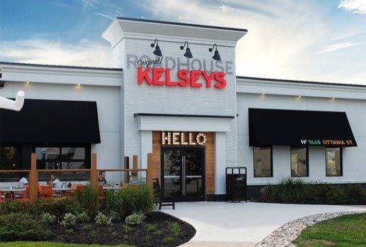 Kelseys restaurant exterior