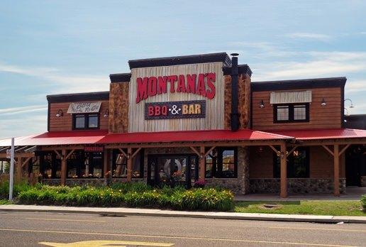 Montana's restaurant exterior day