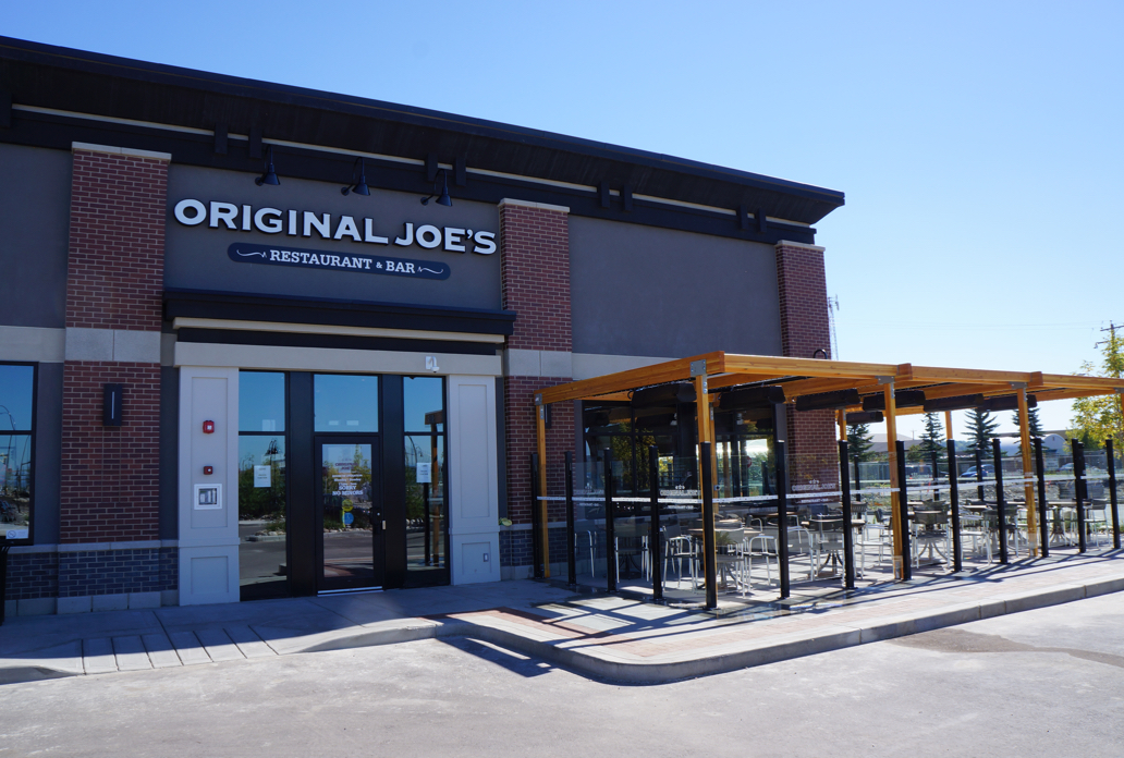 Original Joe's exterior during afternoon
