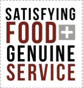 Satisfying food and genuine service