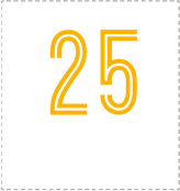 More than 25 locations