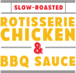 Slow-roasted rotisserie chicken